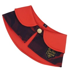 Distinguished Pet Cape - Camo Hot Red