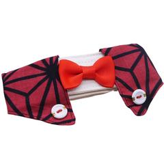 Dapper Pet Collar - Rose Red