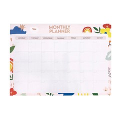 Colourful Rainbow Monthly A3 Planner