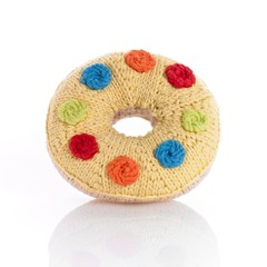 Playful Donut Rattle