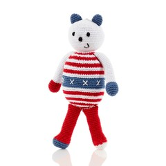 Playful US Bear Rattle