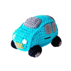 Playful Car Rattle (Turquoise)