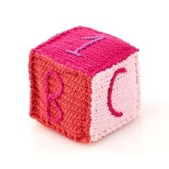 Playful Toy Blocks Rattle (Pink)