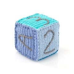 Playful Toy Blocks Rattle (Blue)