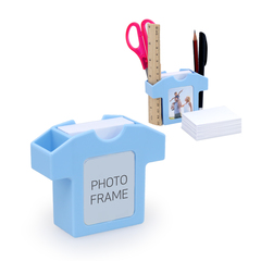 Unique Stationery Holder With Photo Frame