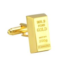 Goldbar Cufflinks