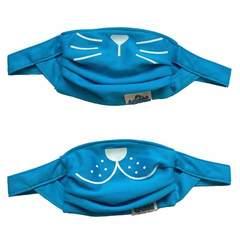 Trunki Reusable Face Masks - Kids Twin Pack - Blue