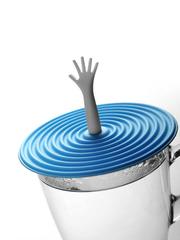 Cup Lid Help (Blue)
