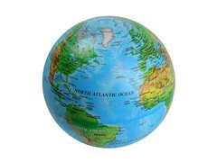 Fascinating Rotating Globe