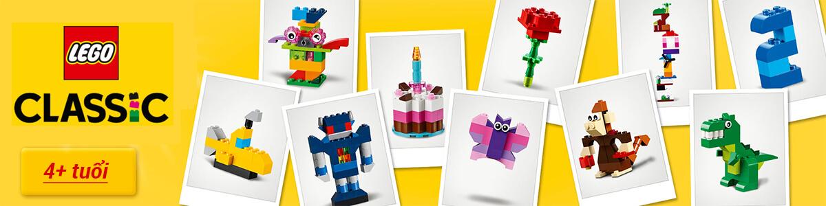 Mua đồ chơi Hộp gạch LEGO Classic lớn 583 mảnh ghép giá rẻ nhất tại pPlay.vn!