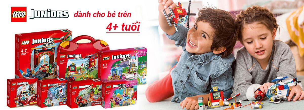 Mua đồ chơi LEGO Juniors giá rẻ nhất tại pPlay.vn!