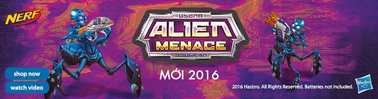 Súng NERF Alien Menace mới nhất 2016 giá rẻ pPlay.vn
