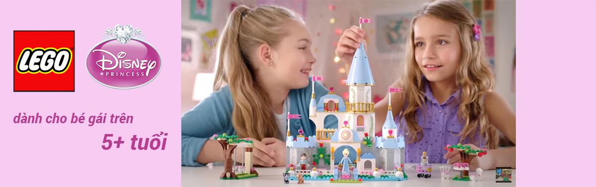 Mua đồ chơi LEGO Công Chúa Disney 41062 - Lâu Đài Băng Giá Lấp Lánh Của Elsa giá rẻ nhất tại pPlay.vn!