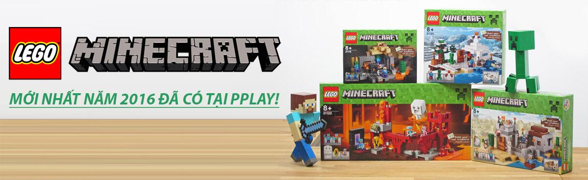 Mua LEGO Minecraft mới nhất giá rẻ nhất tại pPlay.vn!