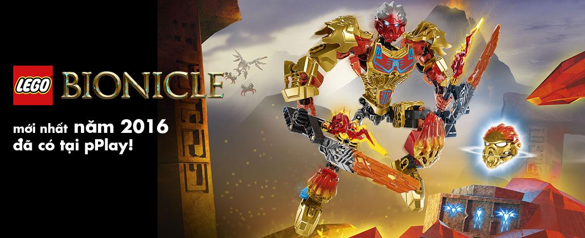Mua đồ chơi LEGO Bionicle mới nhất năm 2016 tại pPlay!