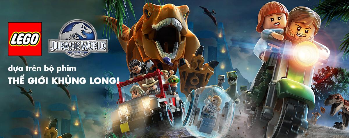 Mua LEGO Jurassic World Thế Giới Khủng Long năm 2015, 2016!
