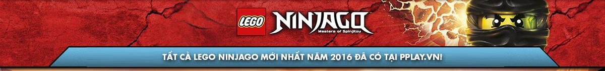 Mua đồ chơi LEGO Ninjago mới nhất năm 2016 rẻ nhất tại pPlay.vn!