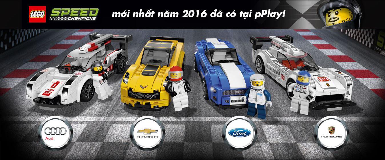 Mua LEGO Speed Champions mới nhất năm 2016 giá rẻ nhất tại pPlay.vn!