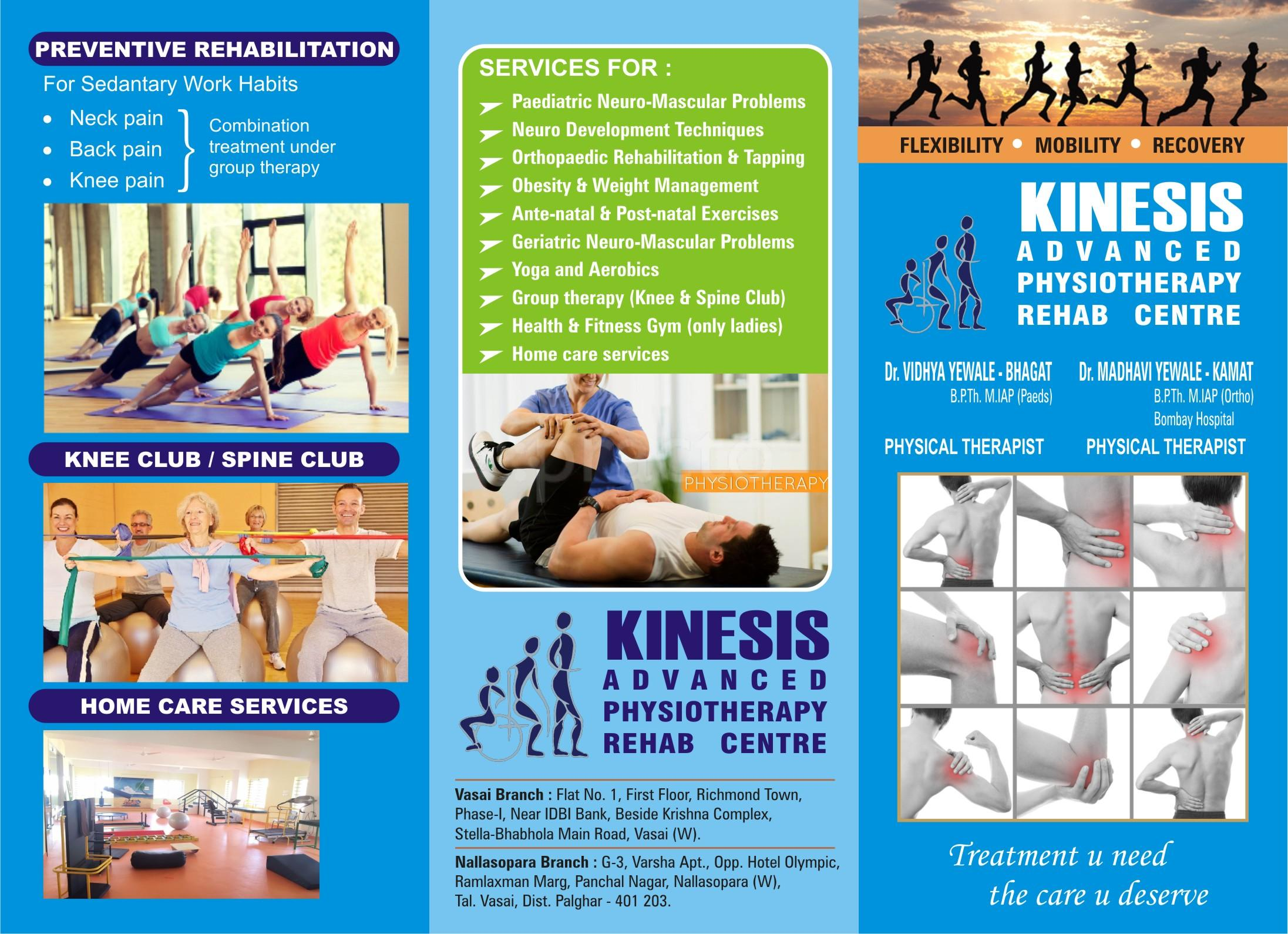 Best Physiotherapy Clinics in Vasai West, Thane - Book