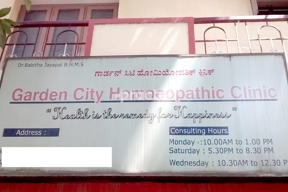 Best Homoeopathy Clinics in Bangalore - Book Appointment