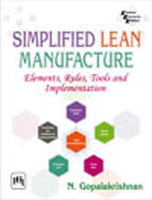 Simplified Lean Manufacture, 1st Ed by Gopalakrishnan on Textnook.com