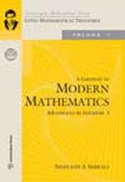 Gatewa to Modern Mathematics Vol - 1, 1st Ed 1, 1st Ed by S A Shurali on Textnook.com