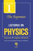 The Feynman Lectures On Physics V. 1 by R P Feynman on Textnook.com