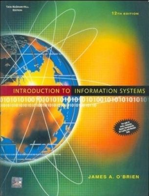 Intro. To Information Systems With Cd 12E by James P O'Brien on Textnook.com