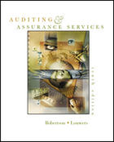 Auditing and Assurance Services 10th, Intl. Student Ed by Barry BryanTimothy LouwersJack C Robertson on Textnook.com
