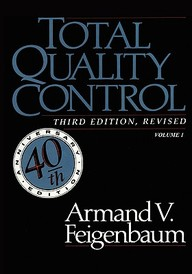 Total Quality Control, Vol. 1 by Armand V Feigenbaum on Textnook.com