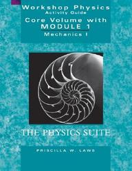 Workshop Physics Activity Guide, the Core Volume with Module 1: Mechanics I: Kinematics and Newtonian Dynamics (Units 1 - 7) by Priscilla W Laws on Textnook.com