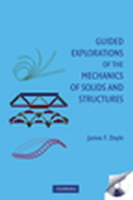Guided Explorations of the Mechanics of Solids and Structures 1 by James F Doyle on Textnook.com