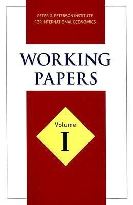 Working Papers (Vol-1) by Peter G Peterson on Textnook.com