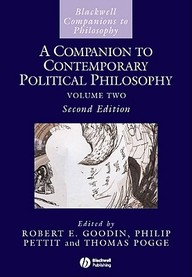 A Companion to Contemporary Political Philosophy, 1 Volume (Blackwell Companions to Philosophy) by Thomas W PoggeRobert E GoodinPhilip Pettit on Textnook.com