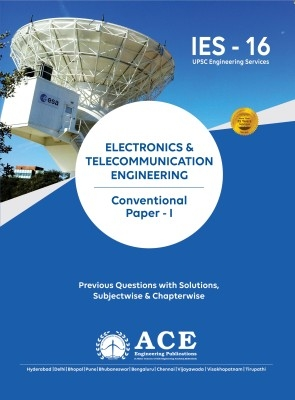 Ies Electronics & Telecomm. Engg. (Con.) Paper - 1, 2016 by  on Textnook.com