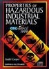 Properties Of Hazardous Industrial Materials Crc Net Base 1999, Cd-Rom Only by Cooper on Textnook.com