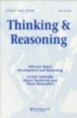 Thinking & Reasoning(Vol-10) Issue-2 (May-2004) by Henry Markovits on Textnook.com