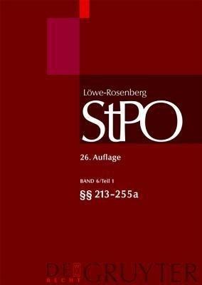 Low-Rosenberg Stpo 26. Auflage: Band 6/Teil 1(213-255A by Ignor Alexander on Textnook.com