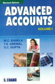 Advanced Accounts Vol 1 by M C ShuklaT S GrewalS C Gupta on Textnook.com