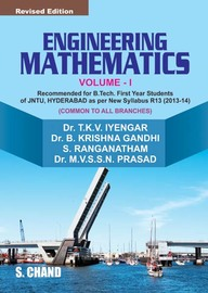 Engineering Mathematics: Vol. 1: for JNTU Students (Hyderabad) by B Krishna GandhiS RANGANATHAMM V S S N PrasadT K V IYENGAR on Textnook.com