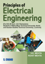 Principles of Electrical Engineering for Be/Btech Students 1 & 2 Sem: Up Technical University by ROHIT MEHTAV K MEHTA on Textnook.com