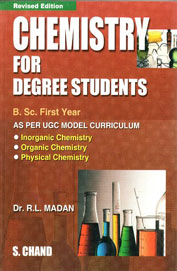 Chemistry for Degree Students Bsc 1 Year by R L Madan on Textnook.com