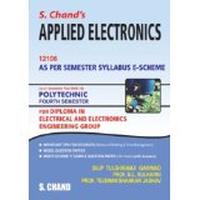 S.Chand's Applied Electronics (12106) for 4th Sem by B L Kulkarni Dilip Tulshiramji on Textnook.com
