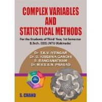 Complex Variables and Statistical Methods, 1st Ed by T K V IYENGAR on Textnook.com