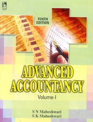 Advanced Accountancy Vol.- I   10/E by S N Maheshwari on Textnook.com