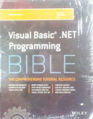 Visual Basic .Net Programming Bible 01 Edition by Jason BeresBill EvjenET AL. on Textnook.com