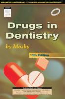 Drugs In Dentistry By Mosby, 10th Ed by Arthur H Jeske on Textnook.com