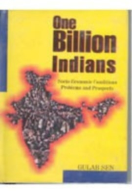 One Billion Indian: Problems And Prospects (English) 01 Edition by Kanwar Gulab Sen on Textnook.com
