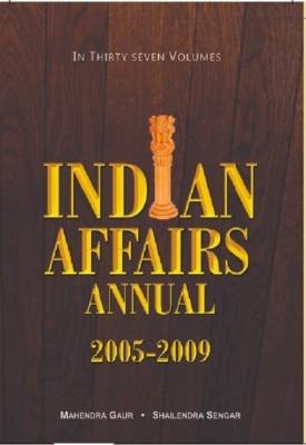 Indian Affairs Annual 2007, 9 vols (English) 01 Edition by Dr. Mahendra Gaur on Textnook.com