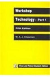 Workshop Technology Part 1,  5Th Edn by Chapman Waj on Textnook.com